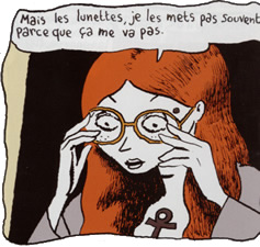 De gafas y monóculos