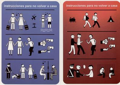 Instrucciones para no volver a casa
