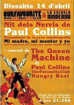 Fw: Festa Paul Collins La Escuela Moderna + OFC